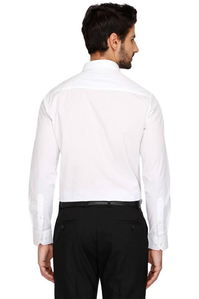Mens Formal Solid Shirt