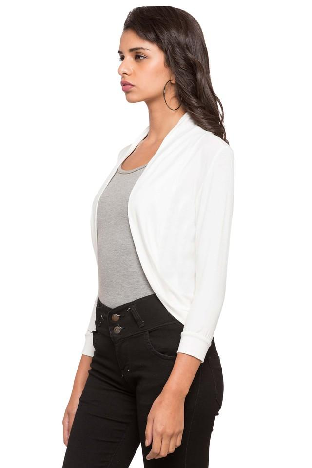 Womens Solid Casual Shrugs