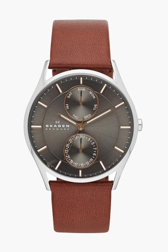 Mens Analogue Round Dial Strap Watch - SKW6086