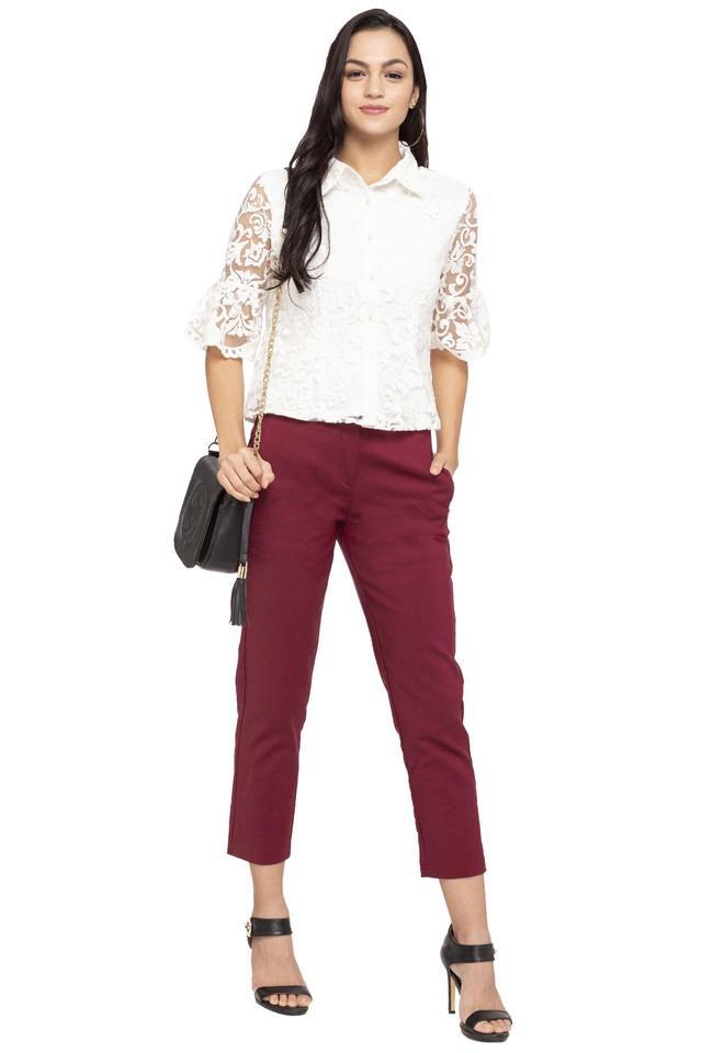 Womens Lace Casual Shirt
