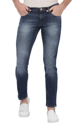 Mens Mild Wash Low-Bruce Jeans