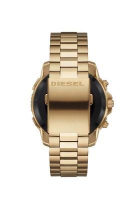 Mens Blue Dial Stainless Steel Smart Watch - DZT2005