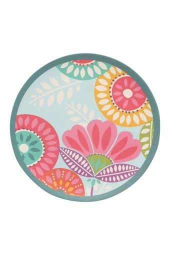 Round Fantasia Printed Side Plate