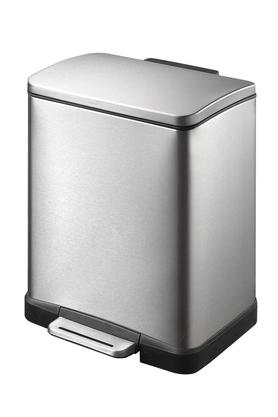 ENVOUGE Brushed Stainless Steel Step Bin - 203509443_9900