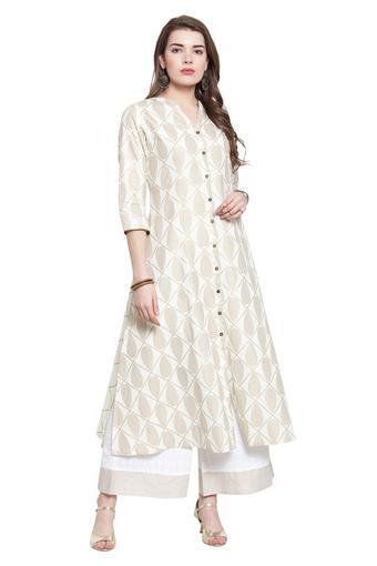 VARANGA -  IvorySalwar & Churidar Suits - Main