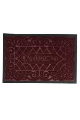 Rectangular Solid Textured Doormat