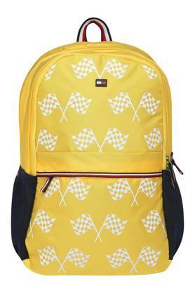 Unisex 2 Compartment Zipper Closure Backpack