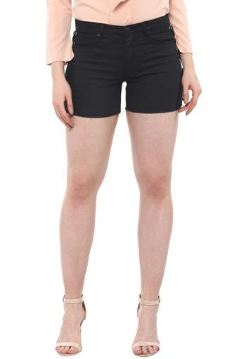 VIBE -  BlackCapris & Shorts - Main