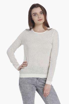 VERO MODAWomens Round Neck Sweater