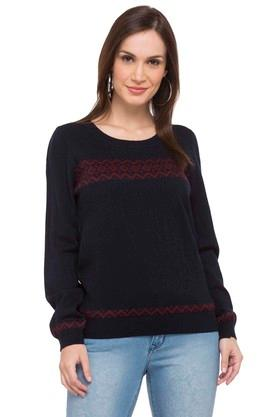 71b4a8f9b5 Size  L · X WILLS LIFESTYLE Womens Round Neck Solid Sweater