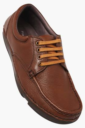 FRANCO LEONE Mens Leather Lace Up Shoes - 203158399
