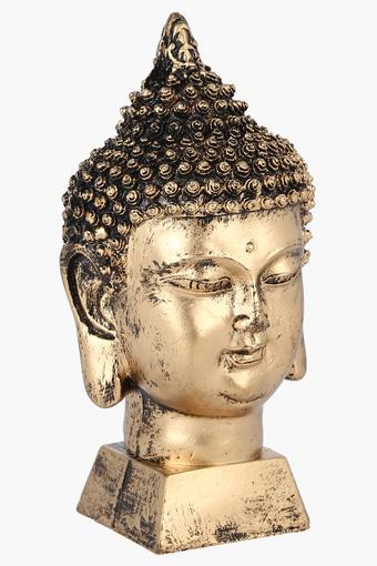 Gold Finish Buddha Head