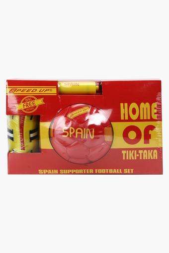 Unisex Spain Supporter Football Combo Pack