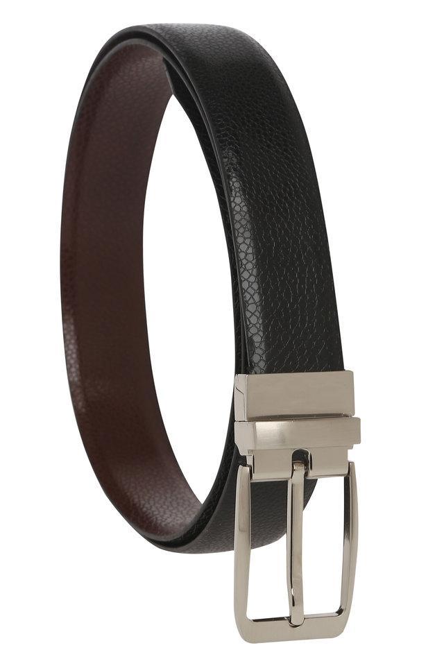 Mens Buckle Closure Formal Belt