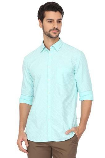 Mens Printed Casual Shirt