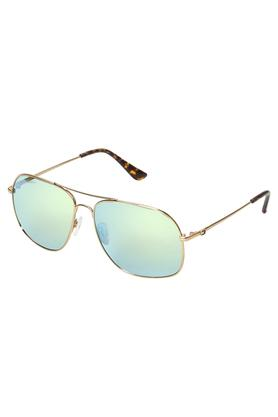 Mens Aviator UV Protected Sunglasses