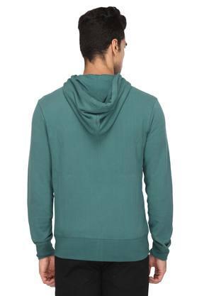 Mens Hooded Slub Sweatshirt