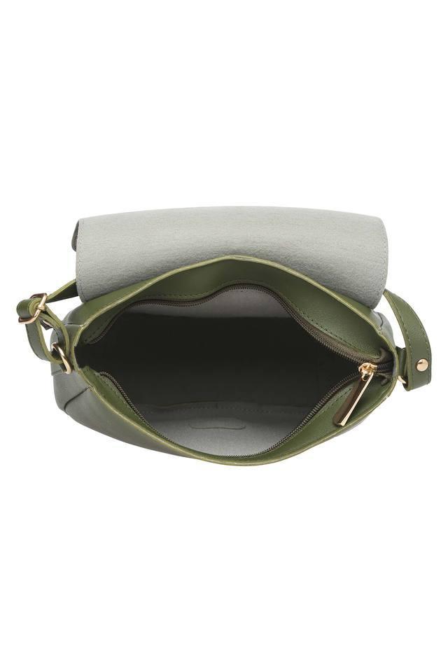 Womens Zip Closure Sling Bag
