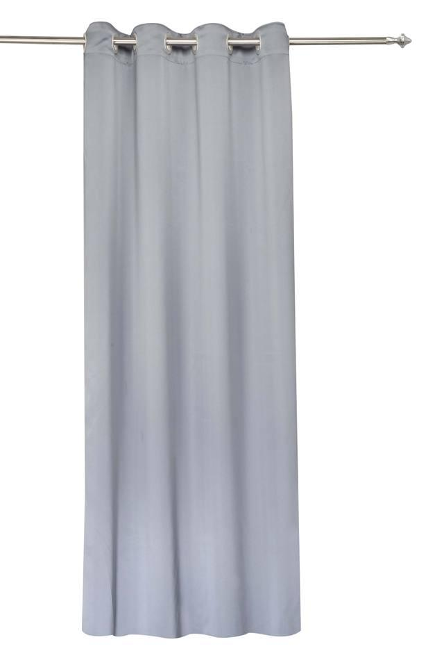 Solid Door Curtain - Pack of 2
