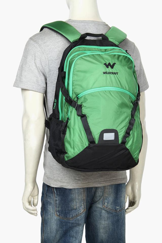 Mens 3 Compartment Zipper Closure Backpack