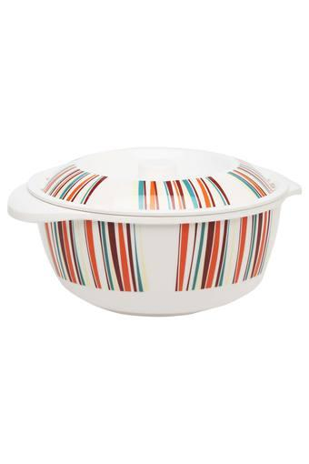 Color of Friend Round Printed Casserole with Lid