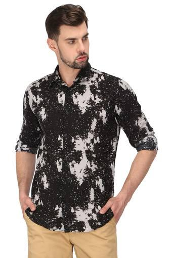JACK AND JONES -  Black Casual Shirts - Main