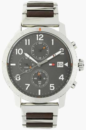 TOMMY HILFIGERGrey Dial Chronograph Watch - TH1791362J