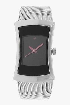 Fastrack Womens Analogue Metallic Watch - NJ6093SM01C image