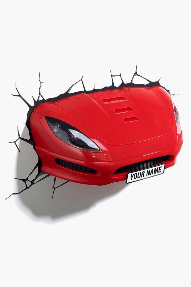 FX Sports Car 3D Deco Light