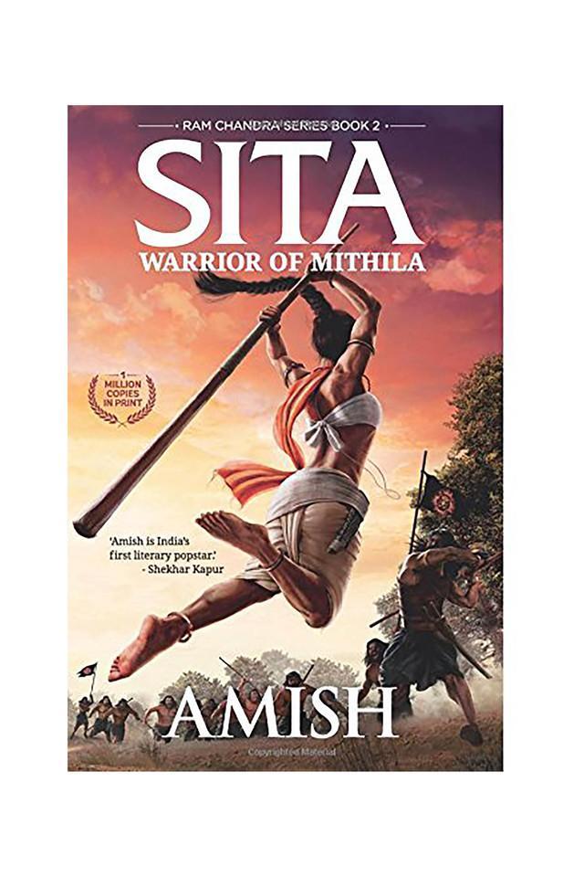 Sita - Warrior of Mithila (Book 2- Ram Chandra Series): An adventure thriller that follows Lady Sitas journey set in mythological times