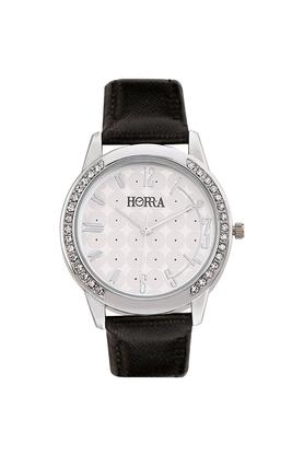 HORRAWomens Eco Series White Dial Analog Watch - HR717WLW92