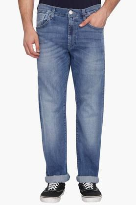 1f2e5042 X LEE Mens 5 Pocket Heavy Wash Jeans. LEE
