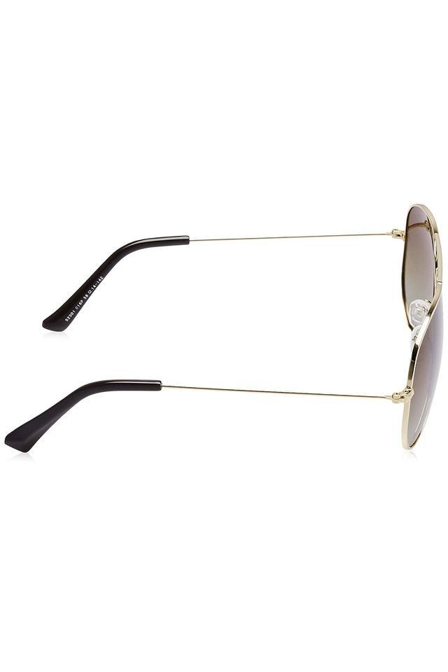 Unisex Aviator Polycarbonate Sunglasses