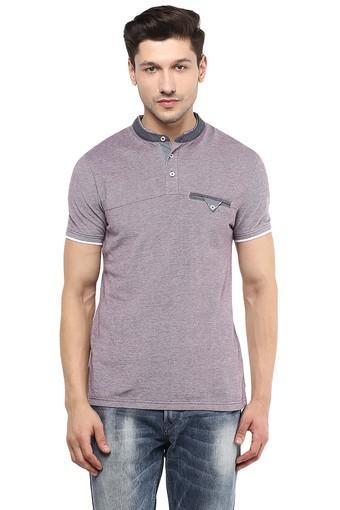 Mens Short Sleeves Slub T-Shirt