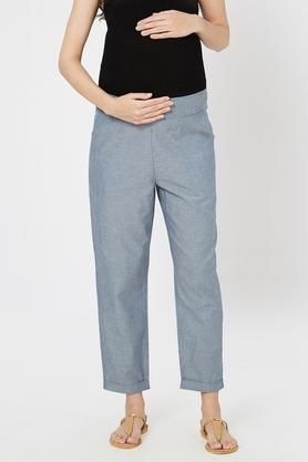 15cf1fa0bd3 X MYSTERE PARIS Maternity Versatile Fit Slub Maternity Lounge Pants.  MYSTERE PARIS