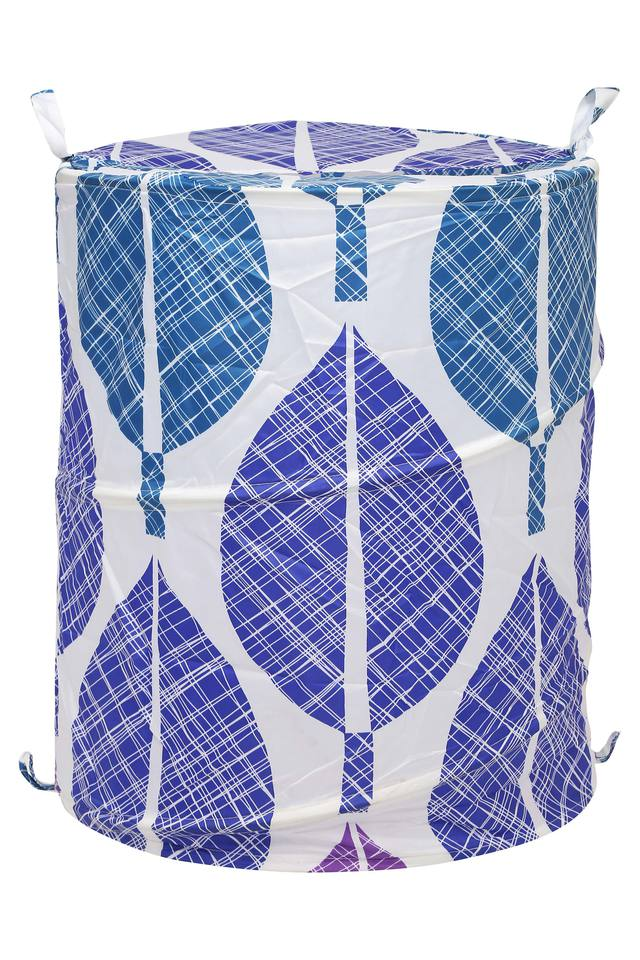 Cylindrical Printed Laundry Bag