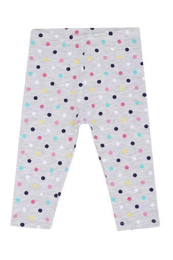 Girls Dot Pattern Leggings