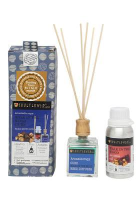 Walk In The Wood Aromatherapy Reed Cube Diffuser Set