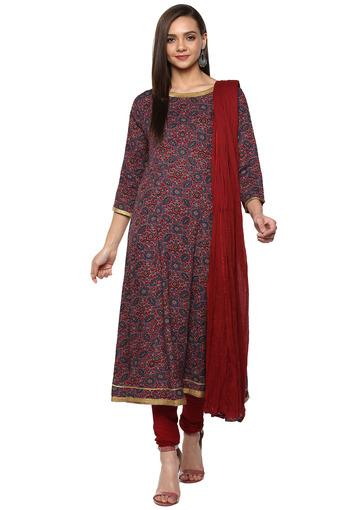 KASHISH -  MaroonSalwar & Churidar Suits - Main