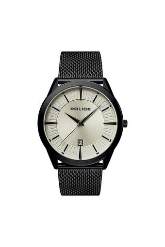 Mens Silver Dial Analogue Watch