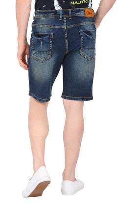 Mens 5 Pocket Mild Wash Shorts