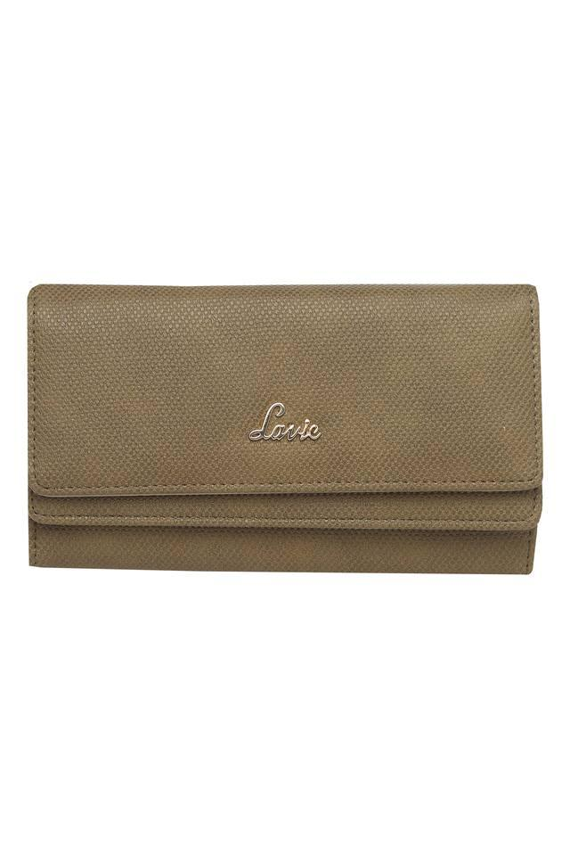 Womens Casual Wear Snap Closure 2 Fold Wallet