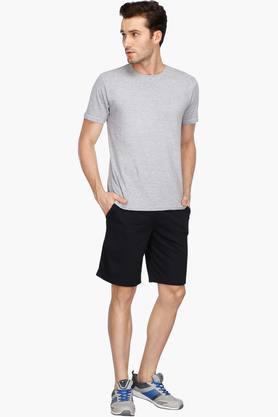Mens 3 Pocket Solid Shorts