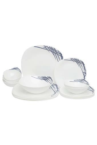 Printed Dinner Set - 14pcs