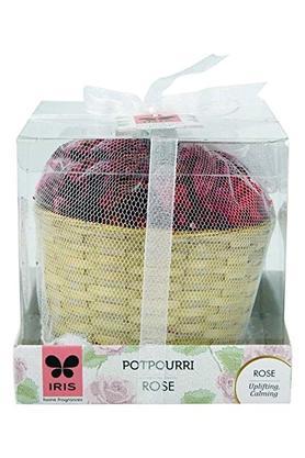 IRISRose Fragrance Potpourri With Cane Basket 50gms