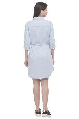 Womens Collared Assorted Shirt Dress