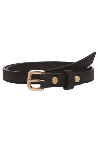 Womens Buckle Closure Casual Belt