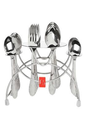 Stainless Steel Perth Cutlery Set of 24
