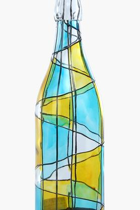 Hand Painted Bottle Votive