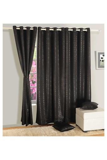 Paisley Printed Door Curtain